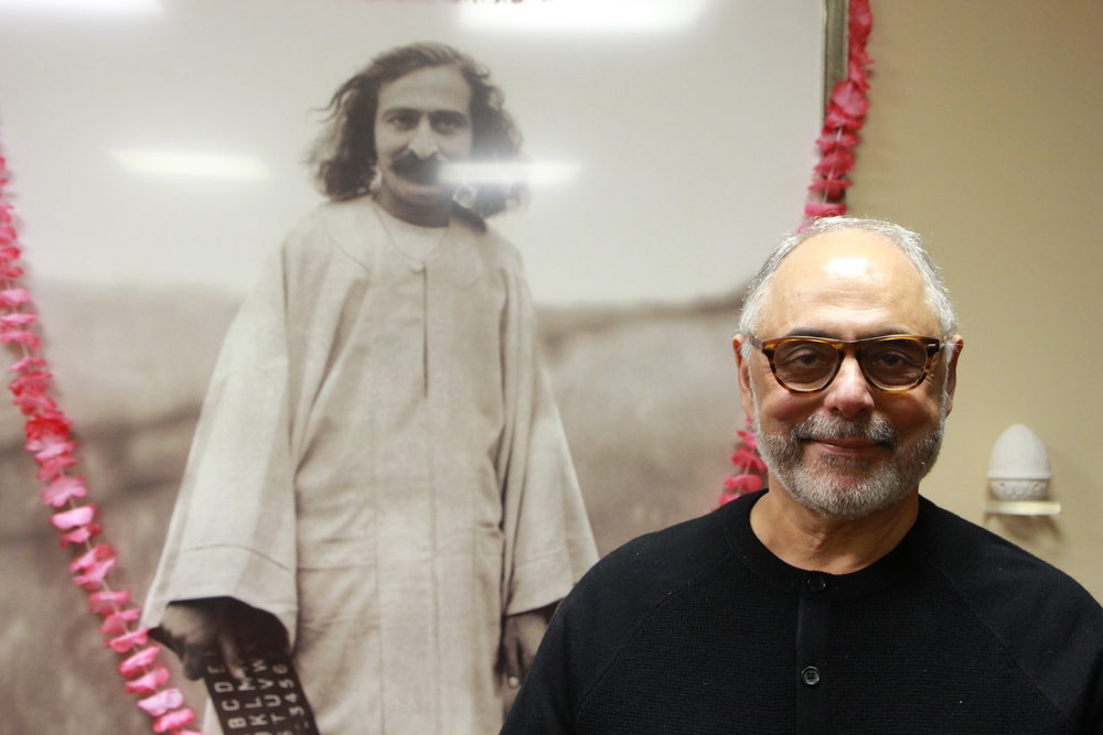 NAOSHERWAN ANZAR at  Beloved Archives  in Hamilton, NJ. (Photo: Phil Ludwig)