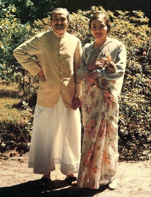 meher baba and mehera at meher spiritual center myrtle beach center USA