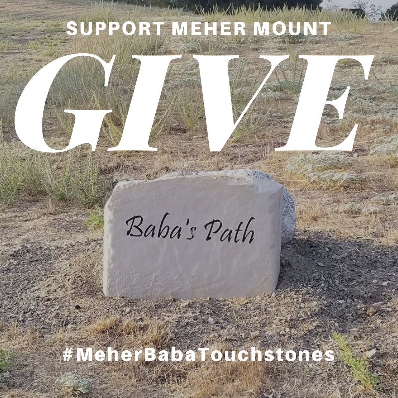 CLICK HERE to make a #Giving Tuesday donation to Meher Mount through the PayPal Giving Fund (no transaction fees), and PayPal will donate another 1% to Meher Mount.