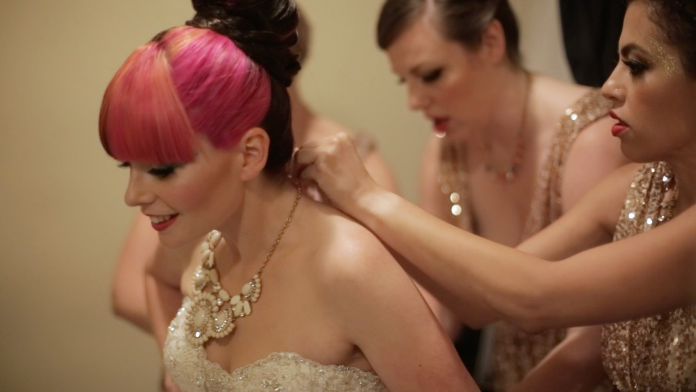 Gold Bridal Necklace Pink Hair Bride.jpg