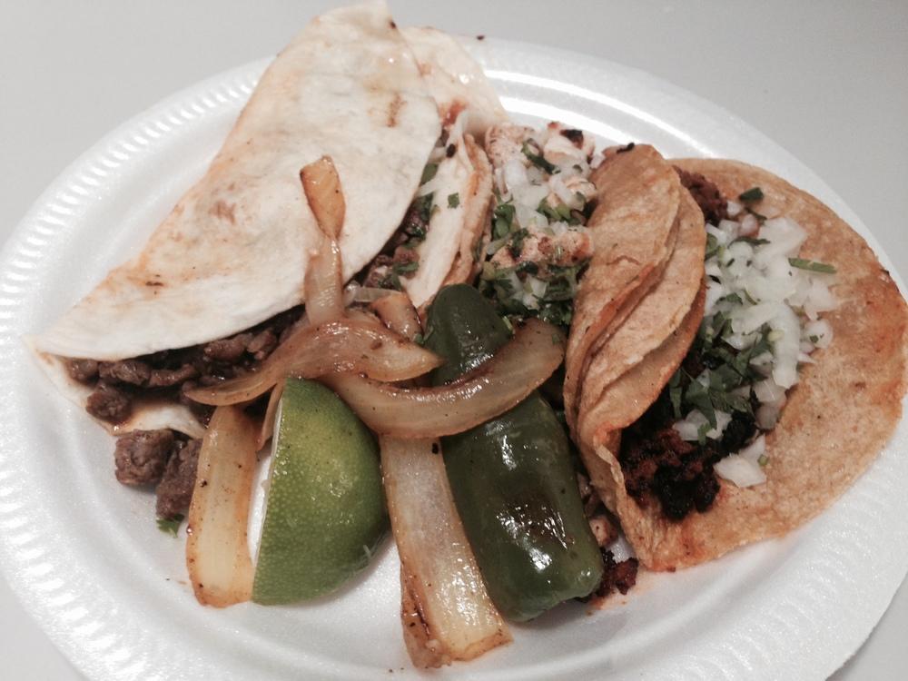 Tacos from La Posada