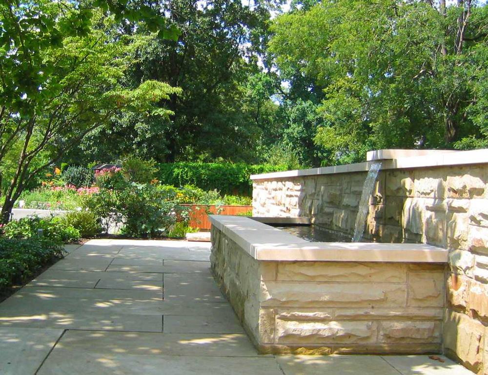 Cleveland botanical garden behnke landscape architecture for Cleveland botanical gardens parking