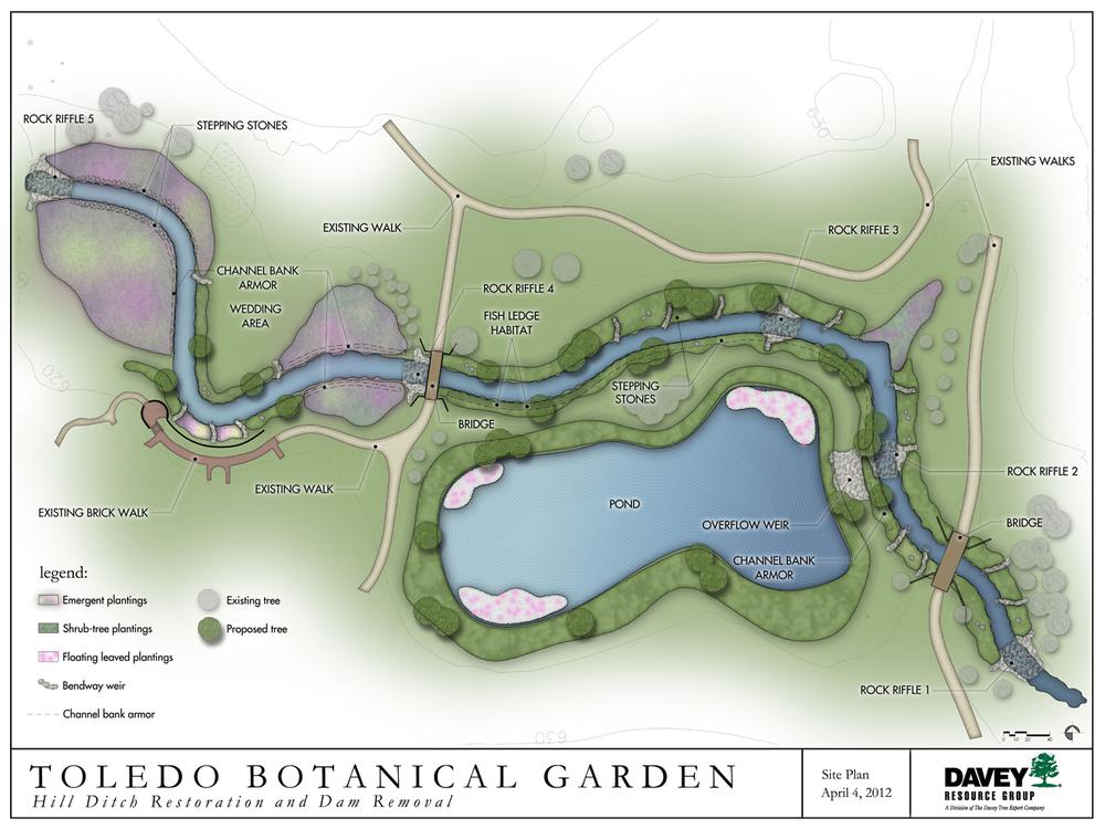 Toledo Bg Hill Ditch Stream Restoration Behnke Landscape