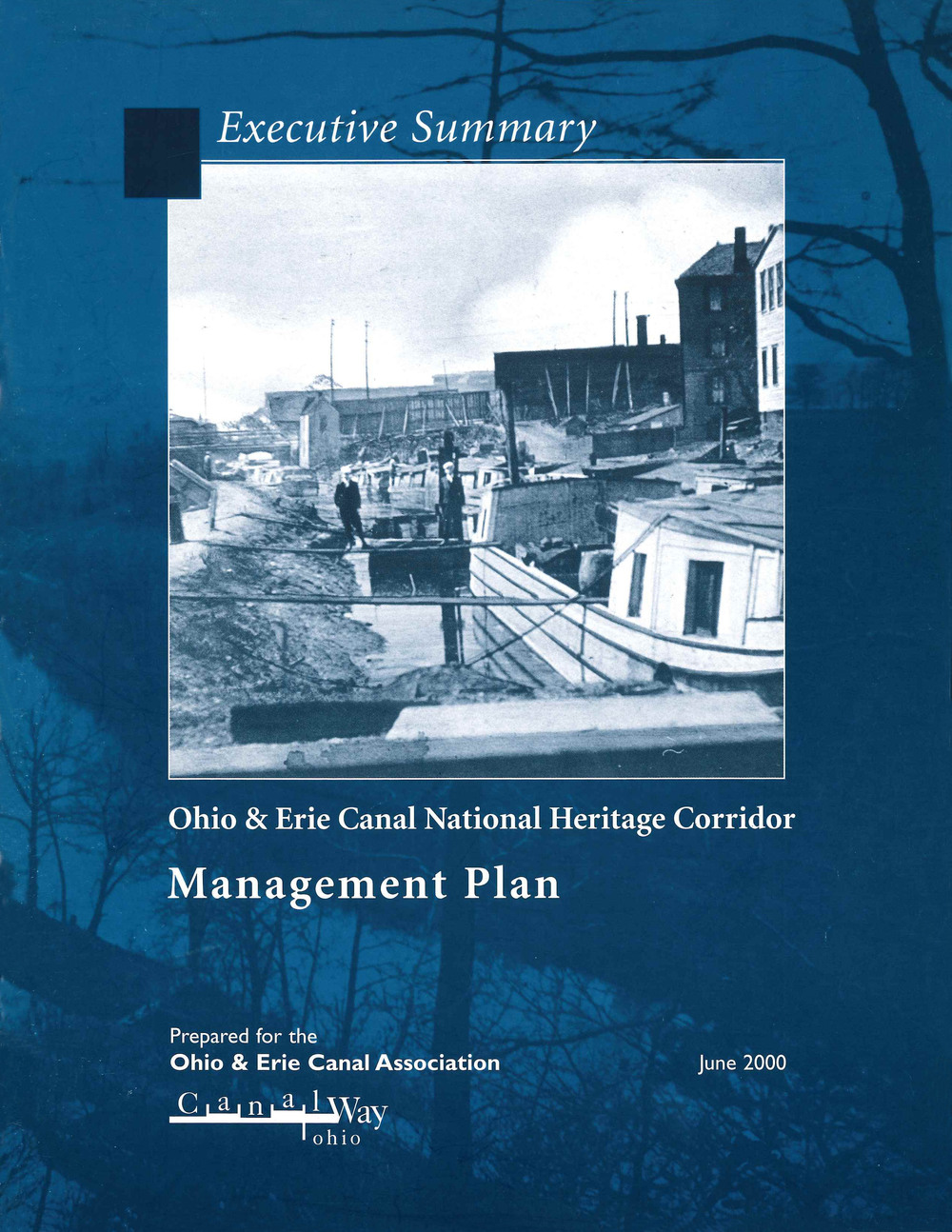 Ohio & Erie Canal National Heritage Corridor Management Plan, June 2000