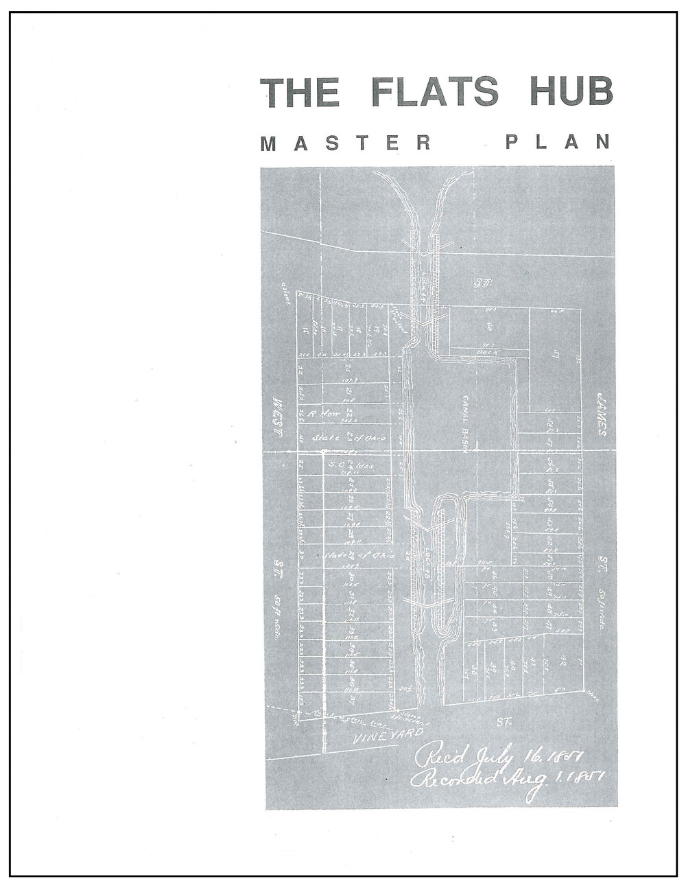 The Flats Hub Master Plan 1990