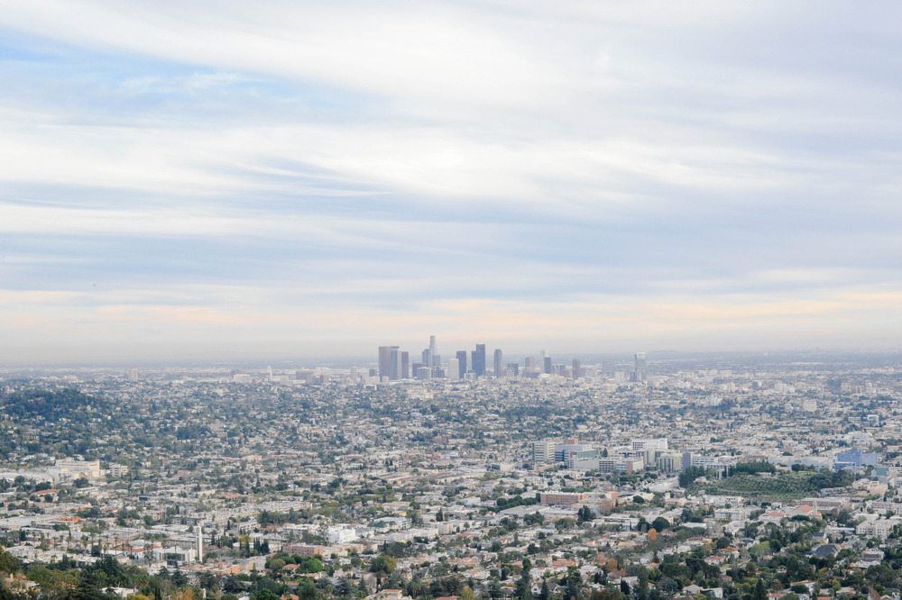 Many trips to LA, but had never made it to the Griffith Observatory… until today. So glad I decided to trek up there.