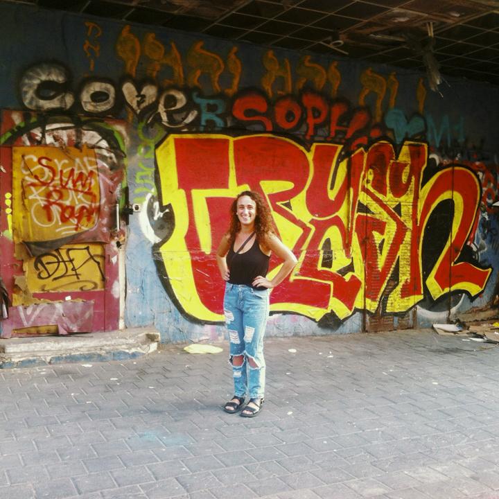 Tel Aviv with Amanda