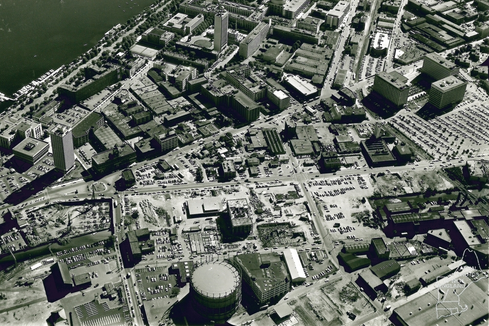 Aerial view, 1968