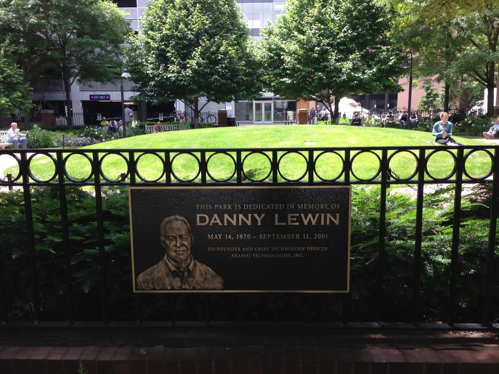 Danny Lewin Park 2013