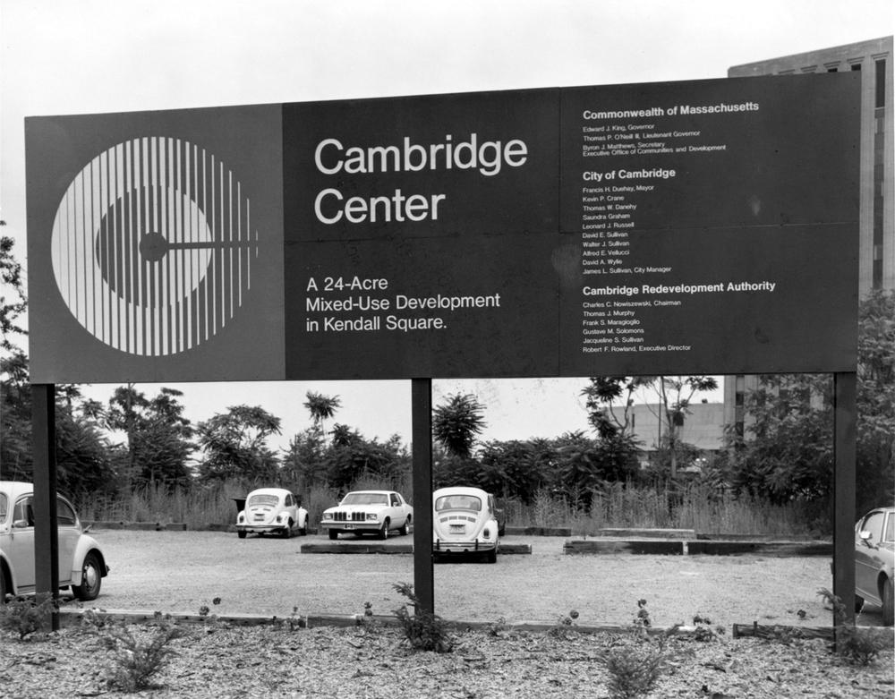 Cambridge Center Pre Construction 1980
