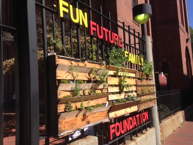 Moses Youth Center Vertical Gardens, 2017 Civic Experimentation Project