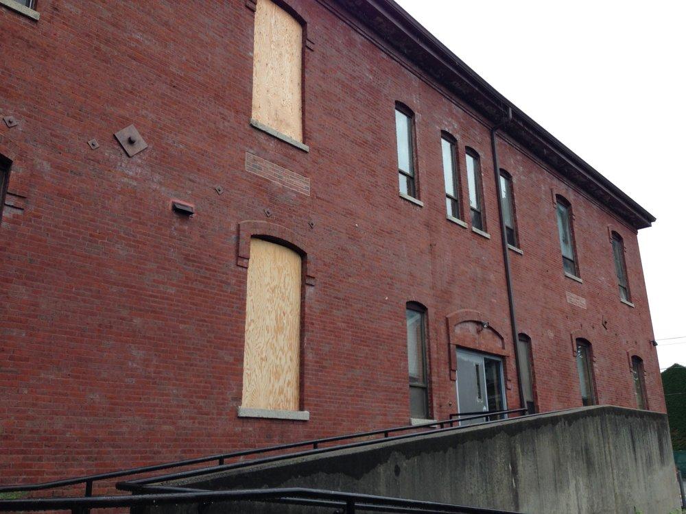 Rear view of 105 Windsor Street