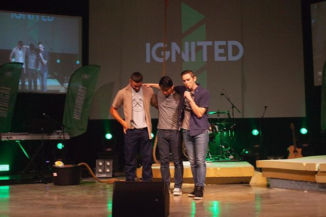 Unveil Night was amazing last week!!! We are so excited for our new series starting tonight!! See you there! #ignitedofficial