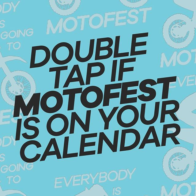 MOTOFEST IS THIS WEDNESDAY!!!! Bring every single person you know!! #motofestmonth #ignitedofficial