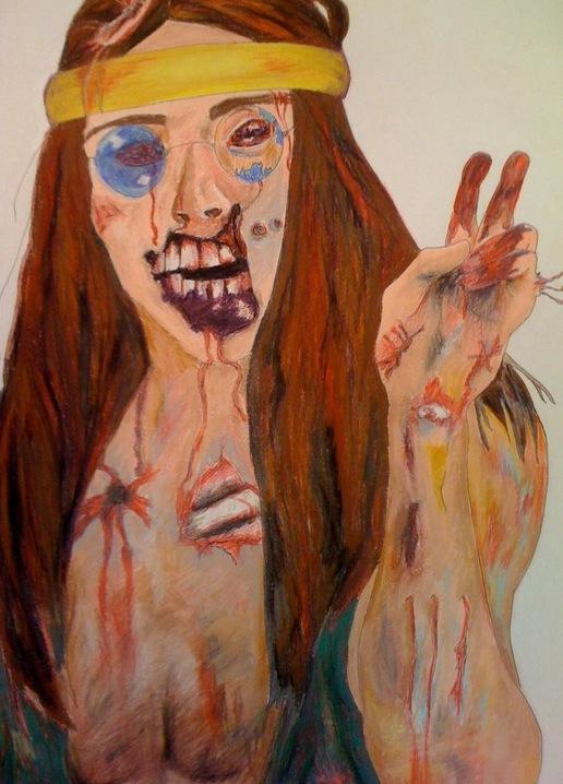 Hippie Zombie
