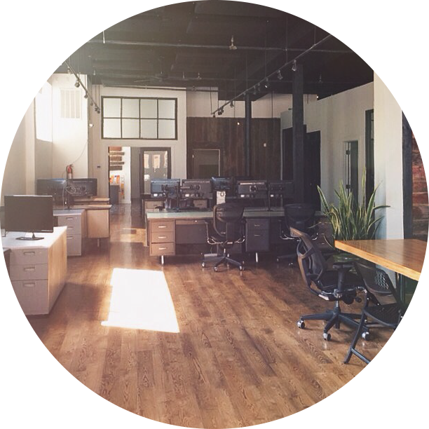 Hook Creative's office is located at 305 W Commercial in Springfield, MO.