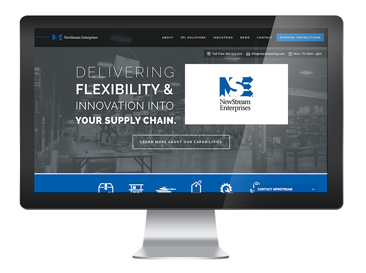 New Stream Enterprises Springfield, MO - Website Design and Development