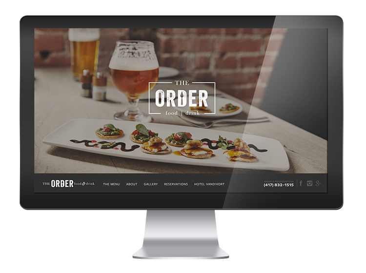The Order Springfield, MO - Website Design and Development