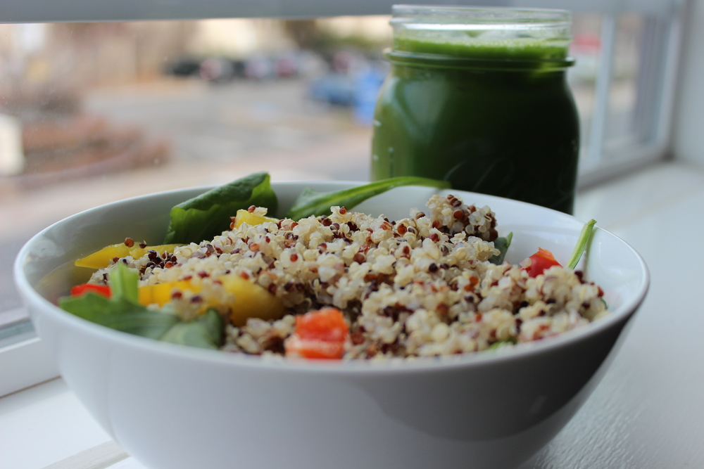 Quentin Vennie: Honey-Lemon Quinoa Salad