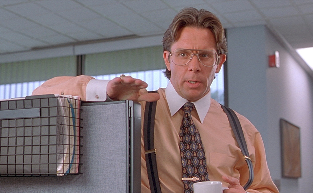 Did you put the new coversheet on your TPS report - Lumbergh, Office Space
