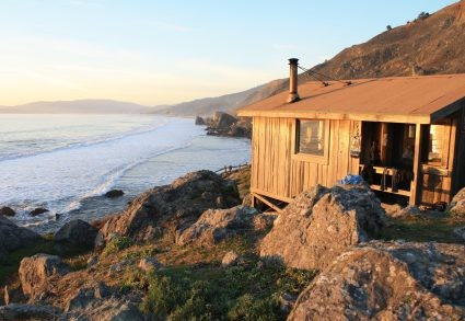 Steep Ravine Cabins in Mount Tamalpais State Park in Northern California.