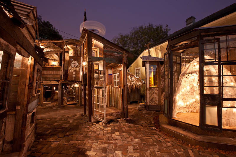The Music Box, a now shuttered musical architecture installation in New Orleans, LA.