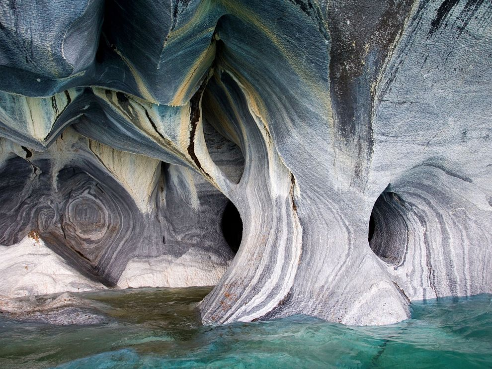 Marble Cathedral in Chile. Photograph by Karl-Heinz Raach (laif/Redux).