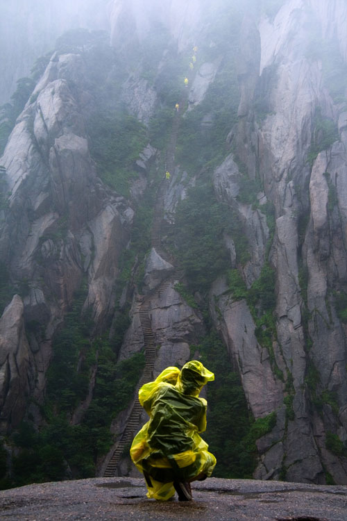 Stairway to Heaven in Anhui, China. Photo by Lance McMillian