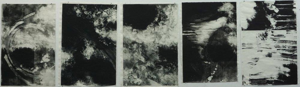 Elizabeth Seibert  Monotype (series of 5)  Monotype 1