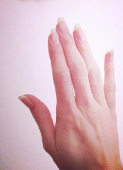 Natural Nail Length (Before cutting)