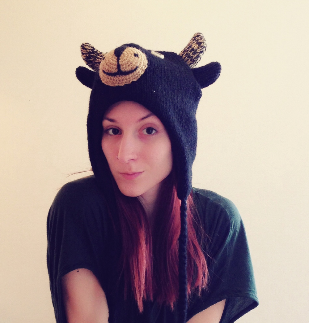 Wear a hat (cute animal hats make everything better)