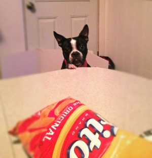Bentley VS Table for the bag of Fritos...0-1