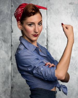 Rockabilly Wrap: Courtesy of Little Skull Photography and Tanya Amalfitano Hair and Makeup