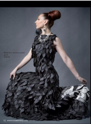 Drea Designs Couture Featured in i-Fashion Magazine Photo Image by Dan Minicucci Photography