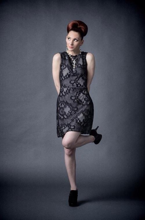 Drea Designs Couture Charcoal Dress