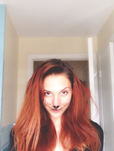 Sometimes...things happen when you go to make a hair tutorial...and you become a lion instead...