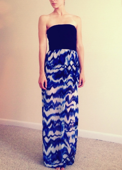Maxi-dress -simple, cute, and...simple