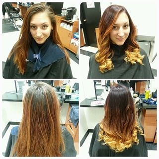 Before and After by Tanya Amalfitano 2014 (curled hair)