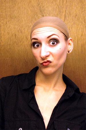 Roaring 20s Makeup + Wig Cap = Drag Queen?