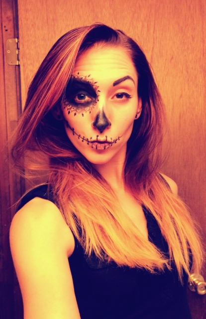 Ever wondered what duck lips look like on a Sugar Skull? Now you don't have to...
