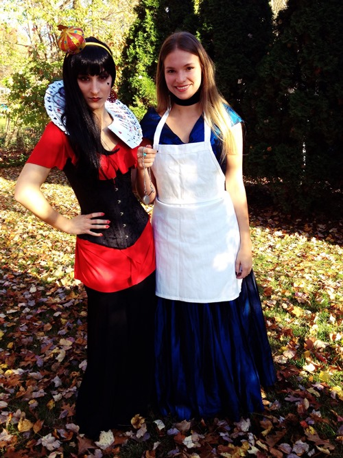 The Red Queen and Alice