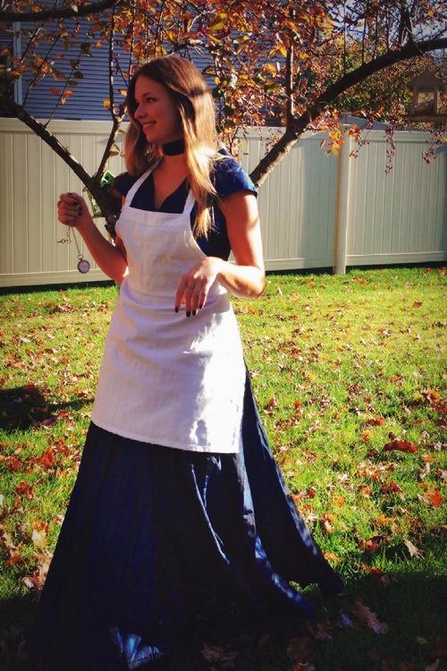 "Lauren of ""Playing Martha"" as Alice in Wonderland"