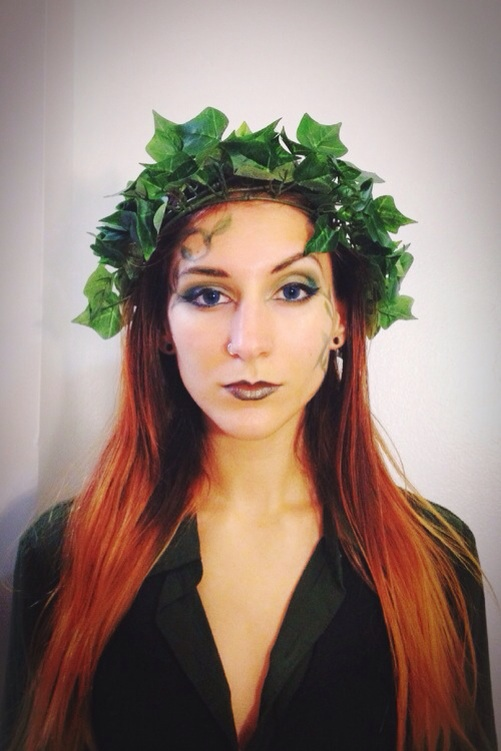 Complete Modern Poison Ivy Costume