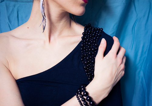 The detailing on the shoulder matched a set of bracelets I already had perfectly