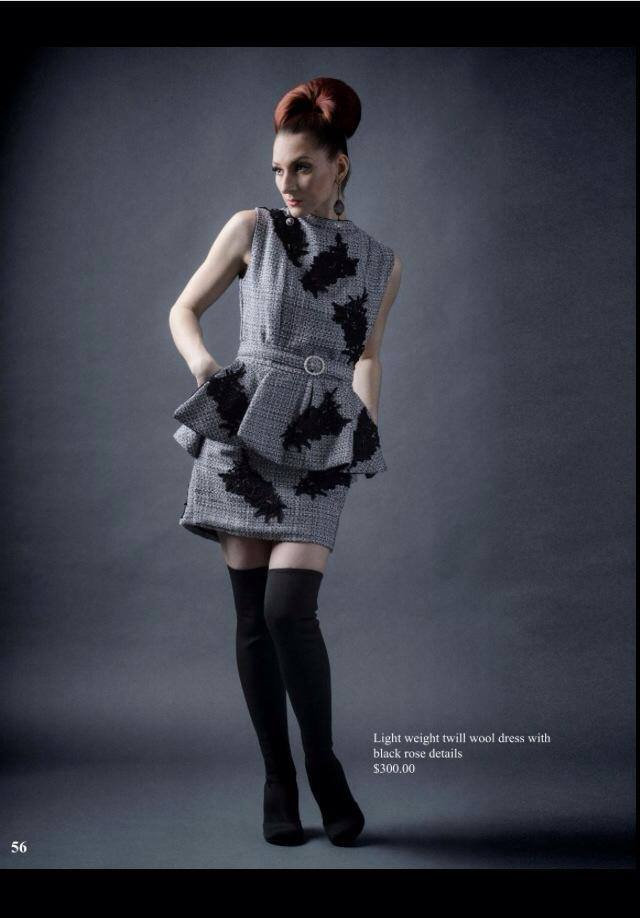 Published in i-Fashion Magazine with Hair by NV My Hair, Makeup by Visage-1 Studios, dress by Drea Designs Couture, and image by Dan Minicucci Photography
