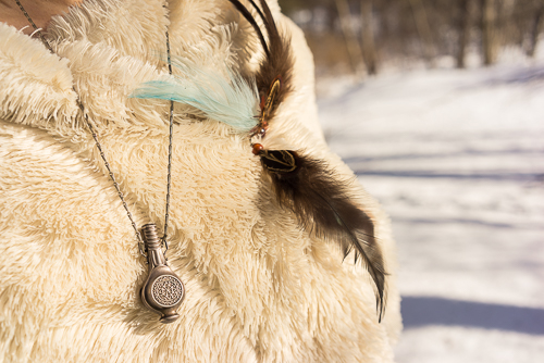 """Detailed shot of my """"coat"""" and accessories"""