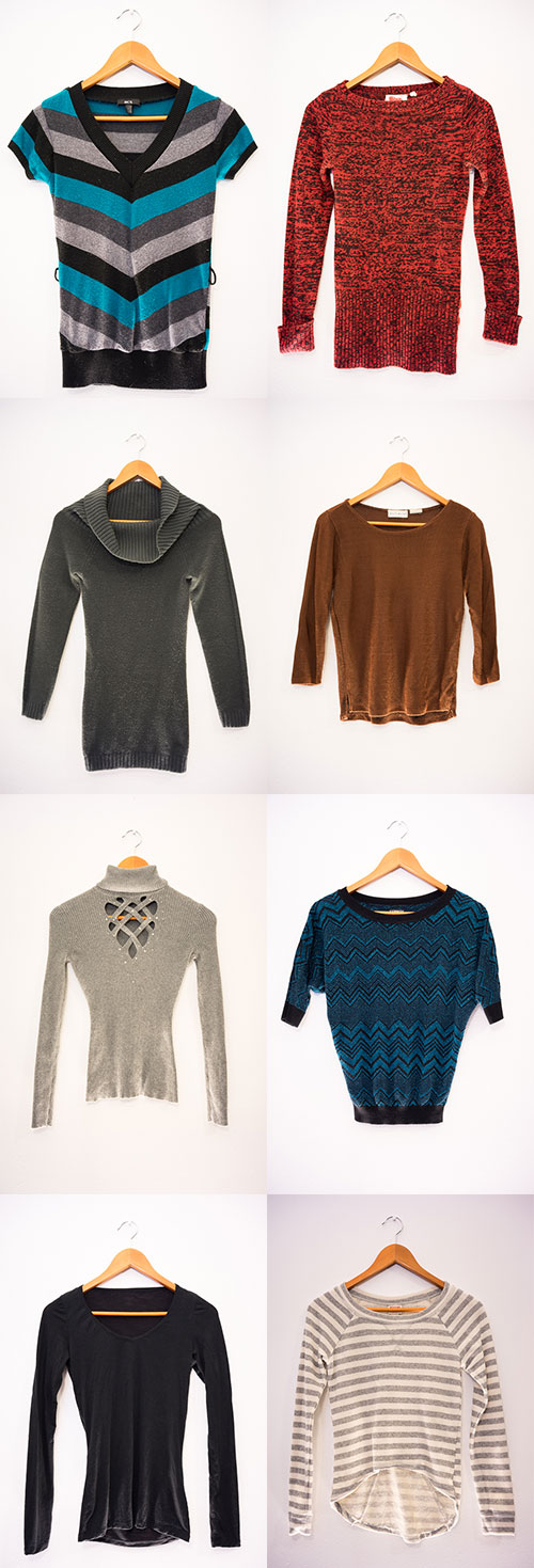 """My """"Sweater Collection"""" from my Winter Wardrobe"""