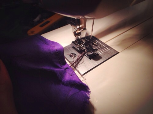 Why do you hate me sewing machine...why?