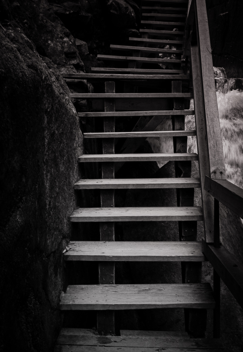 Stairway to The Flume