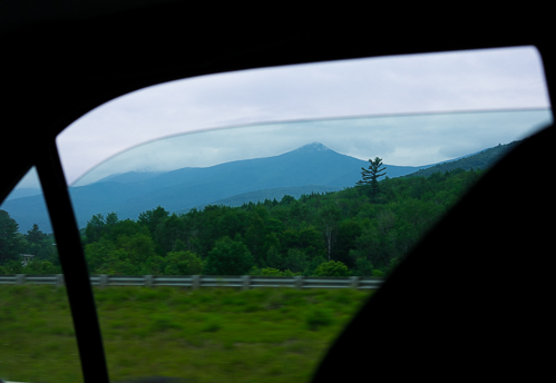 Saying goodbye to The White Mountains in NH